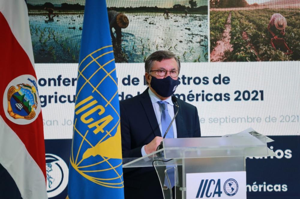 Otero asumió como Director General del IICA por un período de cuatro años el 16 de enero de 2018, y fue ratificado nuevamente en el cargo por los ministros y secretarios representantes de 33 países americanos que participaron en la Conferencia de Ministros, cuyas sesiones albergan la reunión de la Junta Interamericana de Agricultura (JIA), el máximo órgano de gobierno del IICA.