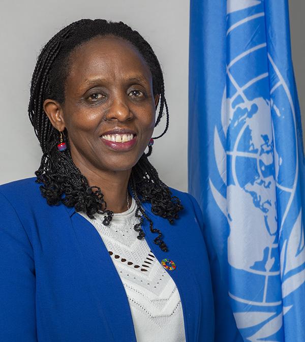 Kalibata es una destacada científica y ex ministra de Agricultura de Ruanda.